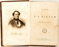 Books:Biography & Memoir, P.T. Barnum. The Life of P.T. Barnum. New York: Redfield,1855. First edition. Octavo. Publisher's cloth binding. To...
