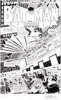Original Comic Art:Splash Pages, John Byrne Batman: Gotham Knights #2 Title Page 1 OriginalArt (DC, 2000)....
