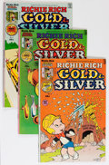 Bronze Age (1970-1979):Cartoon Character, Richie Rich Gold and Silver #2-42 Short Box File Copy Group(Harvey, 1975-82) Condition: Average NM-....