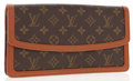 Luxury Accessories:Bags, Louis Vuitton Classic Monogram Canvas Pochette Pour Dame ClutchBag. ...