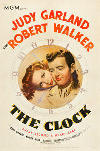 """The Clock (MGM, 1945). One Sheet (27"""" X 41"""")"""