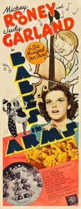 """Movie Posters:Musical, Babes in Arms (MGM, 1939). Insert (14"""" X 36"""").. ..."""