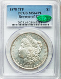 1878 7TF $1 Reverse of 1878 MS64 Prooflike PCGS. CAC. PCGS Population: (225/61). NGC Census: (240/28). CDN: $400 Whsle...