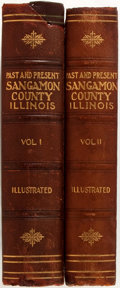 Books:Americana & American History, Joseph Wallace. Past and Present of the City of Springfield andSangamon County, Illinois. Chicago: S.J. Clarke, 190... (Total:2 Items)