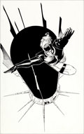 Original Comic Art:Splash Pages, Travis Charest and JD (John Dickenson) WildC.A.T.S.: CovertAction Teams #26 Splash Page 12 Original Art (Image, 1...