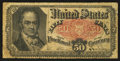Fractional Currency:Fifth Issue, Fr. 1381 50¢ Fifth Issue Very Good-Fine.. ...