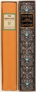 Books:Literature 1900-up, [Edward A. Wilson, Henry C. Pitz, Illustrators]. James FenimoreCooper. Group of Two Limited Editions Including The Deer...(Total: 2 Items)