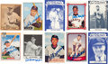 Autographs:Sports Cards, Signed Baseball Hall of Famers Signed Trading Card Collection (84)....