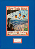 Autographs:Others, 1969 New York Mets Team Signed Yearbook....