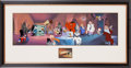 """Animation Art:Model Sheet, Bugs Bunny and Friends """"Of All the Juice Joints..."""" Limited Edition Cel Animation Art #52/250 (Warner Brothers, 1996)...."""