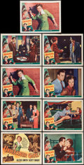 "Movie Posters:Crime, Undercover Girl (Universal International, 1950). Lobby Card Set of8 & Lobby Card (11"" X 14""). Crime.. ... (Total: 9 Items)"