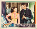 "Movie Posters:Hitchcock, The Lady Vanishes (Gaumont, 1938). Lobby Card (11"" X 14"").. ..."