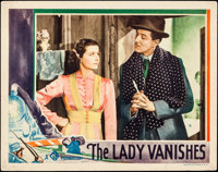 """The Lady Vanishes (Gaumont, 1938). Lobby Card (11"""" X 14"""")"""