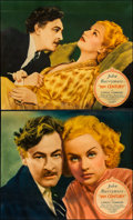 "Movie Posters:Comedy, 20th Century (Columbia, 1934). Jumbo Lobby Cards (3) (14"" X 17"")..... (Total: 3 Items)"