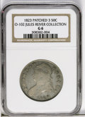 Bust Half Dollars: , 1823 50C Patched 3 G6 NGC. O-102. NGC Census: (0/0). PCGSPopulation (0/22). Numismedia Wsl. Price: $39. (#6133)...