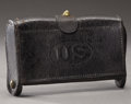 Western Expansion:Cowboy, Second Pattern U.S. M1874 .45-70 McKeever Cartridge Box....