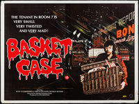 "Basket Case (Analysis Film, 1982). British Quad (30"" X 40""). Horror"