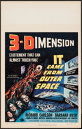 """Movie Posters:Science Fiction, It Came from Outer Space (Universal International, 1953). WindowCard (14"""" X 22"""") 3-D Style. Science Fiction.. ..."""