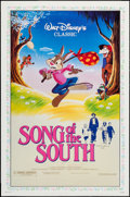 """Movie Posters:Animation, Song of the South (Buena Vista, R-1986). Autographed One Sheet (27"""" X 41""""). Animation.. ..."""