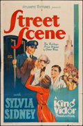 "Movie Posters:Drama, Street Scene (Atlantic Pictures, R-1938). One Sheet (27"" X 41""). Drama.. ..."