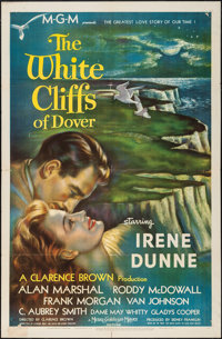 """The White Cliffs of Dover (MGM, 1944). One Sheet (27"""" X 41"""") Style C. War"""