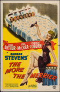 """Movie Posters:Comedy, The More the Merrier (Columbia, 1943). One Sheet (27"""" X 41"""") Style B. Comedy.. ..."""