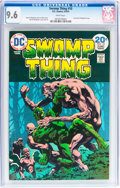 Bronze Age (1970-1979):Horror, Swamp Thing #10 (DC, 1974) CGC NM+ 9.6 White pages....