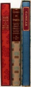 Books:Literature 1900-up, Group of Three SIGNED/LIMITED French Classics From the LimitedEditions Club, Including: Alexandre Dumas, Fils. La Dame ...(Total: 3 Items)