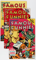 Golden Age (1938-1955):Miscellaneous, Famous Funnies #205-208 Group (Eastern Color, 1953) Condition: Average NM-.... (Total: 4 Comic Books)