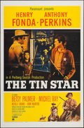 "Movie Posters:Western, The Tin Star (Paramount, 1957). One Sheet (27"" X 41""). Western....."