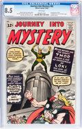 Silver Age (1956-1969):Superhero, Journey Into Mystery #85 (Marvel, 1962) CGC VF+ 8.5 White pages....