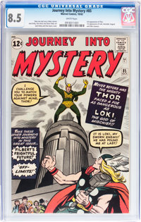 Journey Into Mystery #85 (Marvel, 1962) CGC VF+ 8.5 White pages