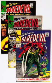 Disciplined Daredevil-1964 #95 Vf Collectibles Other Comic Collectibles 8.5