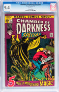 Bronze Age (1970-1979):Horror, Chamber of Darkness Annual #1 (Marvel, 1972) CGC NM 9.4 Whitepages....
