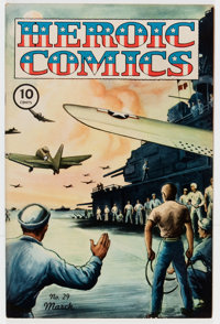Heroic Comics #29 (Eastern Color, 1945) Condition: NM-