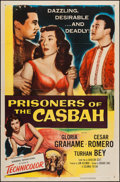 """Movie Posters:Adventure, Prisoners of the Casbah & Others Lot (Columbia, 1953). OneSheets (5) (27"""" X 41""""). Adventure.. ... (Total: 5 Items)"""