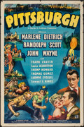 "Movie Posters:Drama, Pittsburgh (Universal, 1942). One Sheet (27"" X 41""). Drama.. ..."