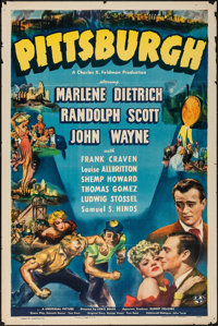 "Pittsburgh (Universal, 1942). One Sheet (27"" X 41""). Drama"