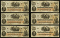Confederate Notes:1862 Issues, T41 $100 1862 PF-12 Cr. 317A Eleven Examples.. ... (Total: 11notes)