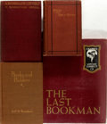 Books:Books about Books, [Books About Books]. Group of Four Books About Bookmen. Variouspublishers, 1877 to 1968. Various editions. Most octavos. Pu...(Total: 4 Items)