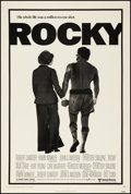 "Movie Posters:Academy Award Winners, Rocky (United Artists, 1977). One Sheet (27"" X 40.5""). Academy Award Winners.. ..."