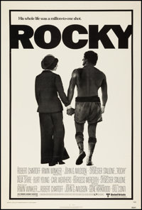 "Rocky (United Artists, 1977). One Sheet (27"" X 40.5""). Academy Award Winners"