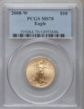 Modern Bullion Coins, 2008-W $10 Gold Eagle MS70 PCGS. PCGS Population (1095). NGC Census: (0). Numismedia Wsl. Price for problem free NGC/PCGS ...
