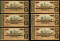 Confederate Notes:1864 Issues, T67 $20 1864 PF-15 Cr. 515 Thirty-seven Examples.. ... (Total: 37 notes)