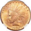 Indian Eagles, 1920-S $10 MS65 NGC....