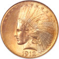 Indian Eagles, 1912-S $10 MS65 NGC....