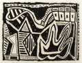 Post-War & Contemporary, DANNY WILLIAMS (American, b. 1950). Untitled, 1988. Ink onpaper. 22 x 29 inches (55.9 x 73.7 cm) (sheet). FROM THE PR...