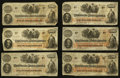 Confederate Notes:1862 Issues, T41 $100 1862 Eleven Examples.. ... (Total: 11 notes)