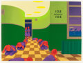 Prints, LEE N. SMITH (American, b. 1950). One Long, Three Short, 1979. Serigraph in colors. 18-1/2 x 24-1/2 inches (47.0 x 62.2 ...