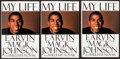 Basketball Collectibles:Programs, 1992 Magic Johnson Signed My Life Hardcover Book. ...